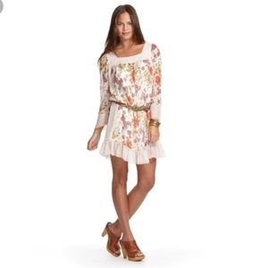Dresses & Skirts - Boho Floral Chiffon Mini Jovovich Hawk for Target